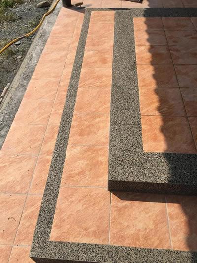 台中宜蘭石抿石子泥作-台中泥作