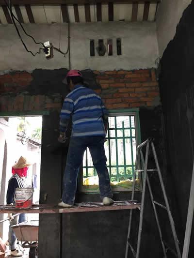台中舊屋翻新泥作-台中泥作